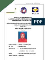 68730649 Laporan Program Bina Insan Guru