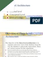 Three Level Architecture