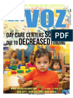 La Voz April 2013