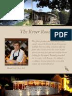River Room Restaurant Menus
