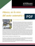 México, en la mira del sector automotriz chino
