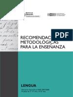 Recursos metodologicos enseñanza lengua