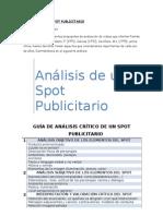 Análisis de un Spot Publicitario (1)