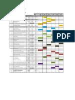 Cronograma de Examenes 2013-I TEORICOS