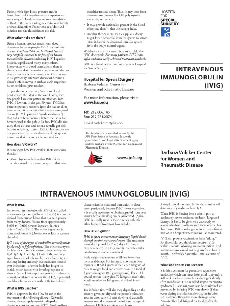 APS-ivig2   Antibody   Intravenous Therapy