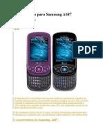 Aplicaciones Para Samsung A687