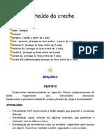 Conteudo+Da+CRECHE 1
