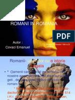 Romani in Romania