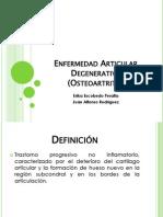 3.- Enfermedad Articular Degenerativa