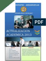 Contenido Actualizacion 2013 -i