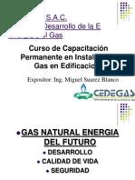 Curso instalación de gas - CEDEGAS