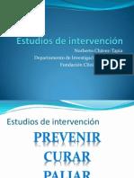 Estudios de Intervencion