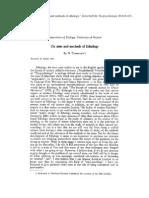 On aims  and methods of Ethology -Tinbergen.pdf