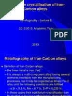 08. Iron-Carbon Phase Diagrams