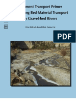 Sediment Transport Primer Estimating Bed-Material Transport in Gravel-Bed Rivers