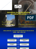 Workshop Caida Rocas Cerro SAC