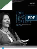 Nielsen March 2013 Cross Platform Report