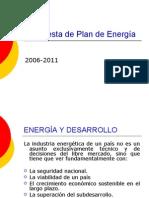 Plan de Energía cuarta versión