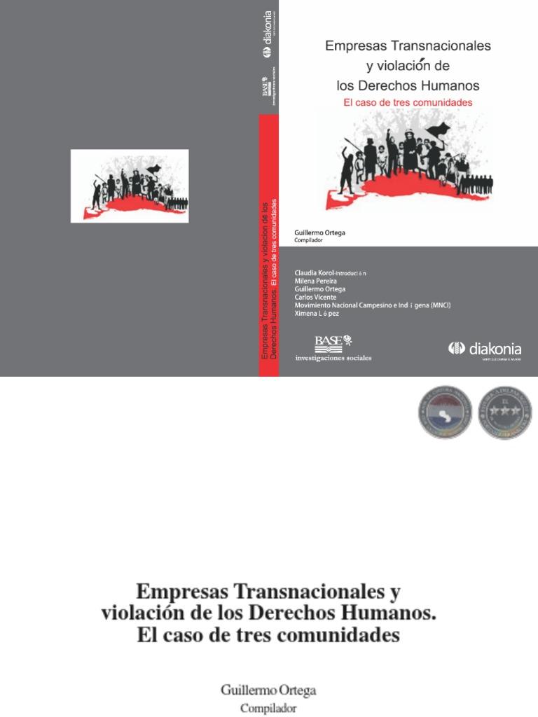 Empresas transnacionales y violación de los Derechos Humanos ...
