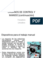 CLASE II -ORGANOS -FRESADORA Y LIMADORA.ppt
