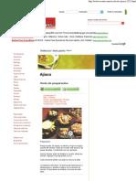 Ajíaco , receta de Ajíaco en recetas