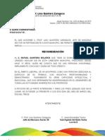 CARTA DE RECOMENDACIÓN PERSONAL RAFAEL