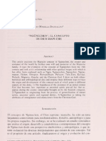 El Concepto de Dios Mapuche