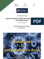 Lezione 1 - Microbiologia e Depurazione Delle Acque