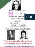 Gay Lussac's Law 12 3