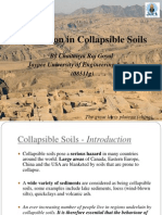 """Project Presentation on """"Foundation in Collapsible Soils"""" by Chaitanya Raj Goyal"""