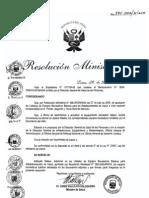 Rm895-2006 Ampliacion de Equipo Medico