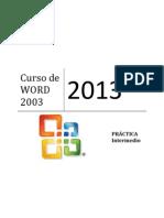 Curso de WORD 2003-Intemedio IPAP
