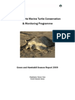 playa-norte-green-and-hawksbill-report 2009 arce s a  and jones d a