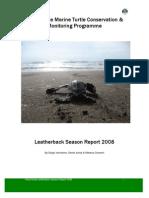 2008leatherbackseasonreport 2008 verissimo d  jones d  and chaverri r