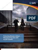 Protecting Mission-Critical Manufacturing Data with an ERP Firewall
