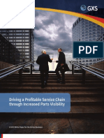 Driving a Profitable Service Chain through Increased Parts Visibility