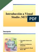 2.- Introduccion a vs .NET (1)