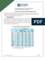 Análisis Estadísticos TUISMO VISITANTES 2012