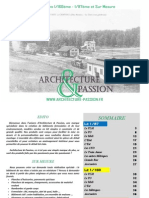 Catalogue Architecture Et Passion