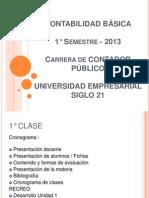 1º CLASE 2013 - Presentación (1)