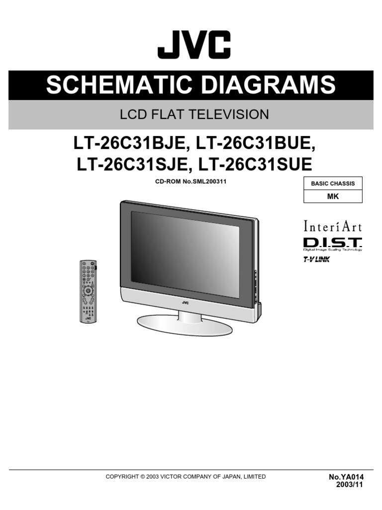 [XOTG_4463]  Jvc Lt-26c31bje [ET] | Capacitor | Resistor | Jvc K Series Circuit Diagram |  | Scribd