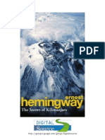 As Neves de Kilimanjaro - Ernest Hemingway