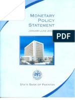 Monetary Policy Statement Jan to Jun 2007