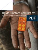Drug, doctors and dinners