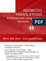 Redwood Translations Presentation