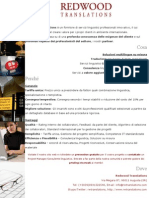 Redwood Translations - Promozione