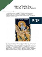 Vocaţia preoţească în Tratatul despre preoţie al Sfântului Grigorie de Nazianz