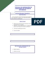 PROTOCOLO DE ASPIRACIÓN DE SECRECIONES EN PACIENTES INTUBADO1