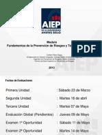Fundamentos de La Prevencion de Riesgos y Tecnicas Preventivas - 2013..