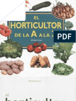 Plantas - Horticultor de La a a La Z